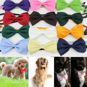 Wholesale Pet Neck Tie Dog Bow Tie Cat bowknot Puppy Bowtie Grooming Supplies
