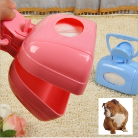 Wholesale Pet Dog Waste Clip Poop Pooper Scoopers Cat Defecation Pick Up Excrement Clear Tool
