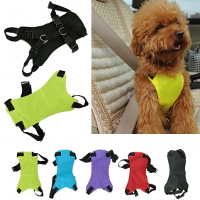 Wholesale Multipurpose Nylon Cat Small and Large Dogs Pet Adjustable Car Vehicle Safety Harness Vest