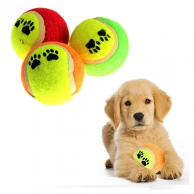 Wholesale Pet Supplies Dog Funny Toy Tennis Balls Run Fetch Throw Play Toy Puppy Chew Toys