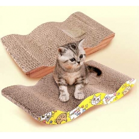 Wholesale Scratchy Box Pad Cats Toys Scratcher